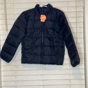 The Children's Place Black Puffer Jacket